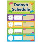 Tape It Up! Today's Schedule Mini Bulletin Board Set