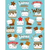 Marshmallow S'mores Scented Stickers