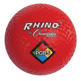 Playground Ball, 8 1/2 Diameter, Red