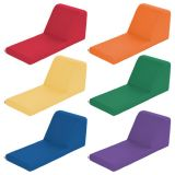 SoftZone® Chaise Lounge, Primary Colors, Set of 6
