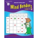 Mind Benders®, Level 4, Grades 3-6