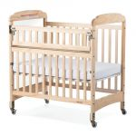 Next Generation Serenity® Compact-Size Crib with Natural EverClear™ Finish, SafeReach® with Clearview End Panels