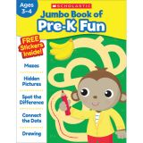 Jumbo Book of Pre-K Fun