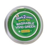 Jumbo Circular Washable Stamp Pad, Vivid Green