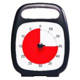 Time Timer PLUS®, 60 Minute, Charcoal Gray