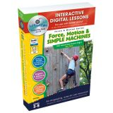 Interactive Whiteboard Lesson Plans, Force, Motion & Simple Machines Big Box
