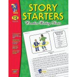 Creative Writing Story Starters, Grades 1-6