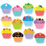 Designer Cut-Outs, Cupcakes, 10