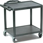 Buhl™ 4-in-1 Plastic Height-Adjustable Cart