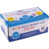 F.U.N.™ Empty Number Line Card Sets, Grades 2-3