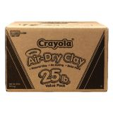 Crayola® Air-Dry Clay, White, 25 lb. Value Pack