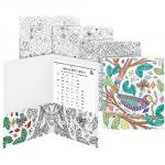 Smead® Coloring Two-Pocket Folders, Florals, Nature, Birds, & Geometric