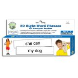 Sensational Reading™ 50 Sight-Word Phrases for Emergent Readers