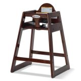 Hardwood High Chair, Cherry