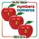 Numbers Board Book, Spanish/English Bilingual