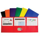 C-Line® Tri-Fold Poly Portfolio, Box of 24
