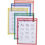 C-Line® Reusable Dry Erase Pockets, 9