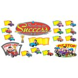Monkey Mischief® Racing to Success Bulletin Board Set