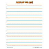 Superhero Smart Start Handwriting Series, Writing Paper, Grades 1-2, 100 sheets