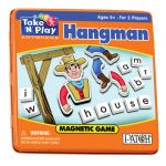 Hangman Magnetic Game Tin