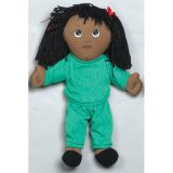 Soft Ethnic Dolls, African American Girl