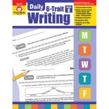 Daily 6-Trait Writing, Grade 8