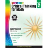 Spectrum® Critical Thinking for Math, Grade 2