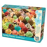 More Ice Cream Family Pieces 350 pc Puzzle