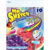 Mr. Sketch® Scented Stix, 10 colors