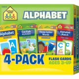 Alphabet Flash Cards 4-Pack
