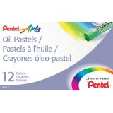 Pentel Arts® Oil Pastels, 12 count