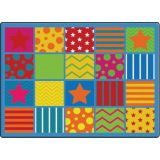 Silly Seating Rug, 6' x 8'4 Rectangle
