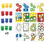 Nuts & Bolts School Activity Set, 72-Piece Set
