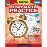 Minutes to Mastery: Timed Math Practice, Grade 2