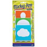Sticky App Notes, 3 designs, Neon colors