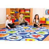 Ocean Life™ Seating Carpet, Rectangular
