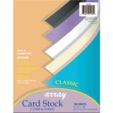 Pacon® Card Stock, Classic Assorted