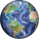 All Around the World PhotoFun Rug™, 6' Round