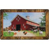See My Barn Animals PhotoFun Rug™, 7'6 x 12' Rectangle