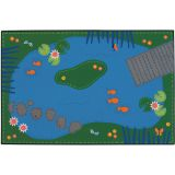 KID$ Value Line PLUS™ Rug, Tranquil Pond Rug, 6' x 9'