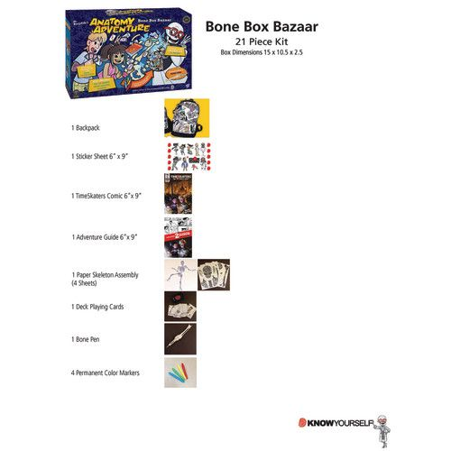 Dr. Bonyfide\'s Anatomy Adventure Kit, The Skeletal System: Bone Box ...