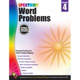 Spectrum® Word Problems, Grade 4