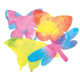 Color Diffusing Paper, 7 x 11 Butterflies, 48 sheets