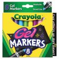 Crayola® Gel Markers, 8 colors