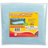 Classroom Light Filters, Tranquil Blue, Set of 4