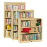 Bookcase with 2 Adjustable Shelves, 35-1/2H, Ready-to-Assemble