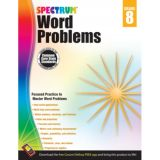 Spectrum® Word Problems, Grade 8