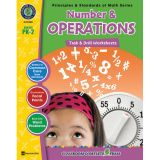 Principles & Standards of Math Task & Drill Worksheets, Number & Operations, Grades PreK-2