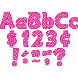 Hot Pink Polka Dots 4 Letters Combo Pack