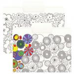 Smead® SuperTab® Coloring Folders, Pack of 6